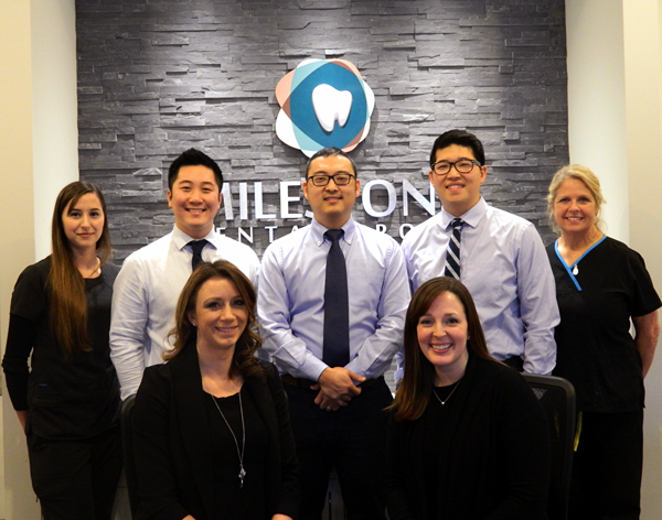 Group Photo - Pediatric and Family Dentists at Milestone Dental Group